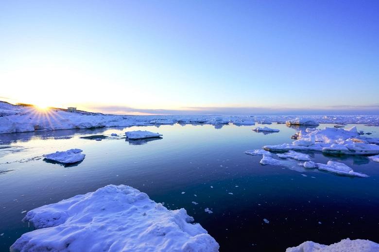 冬の北海道・流氷
