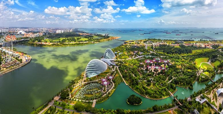 乾季でベストシーズンを迎えるシンガポール