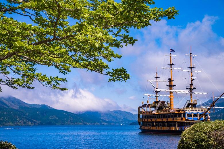 箱根・芦ノ湖の海賊船