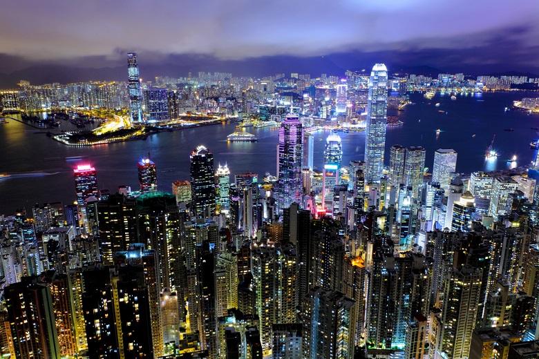 11月は夜景が美しい香港