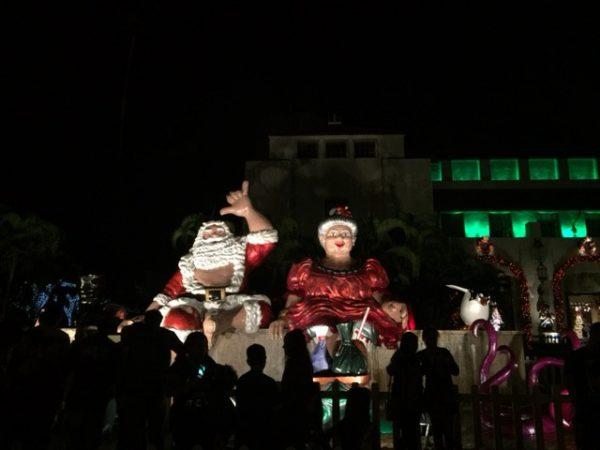 シャカサンタも登場するハワイのクリスマス
