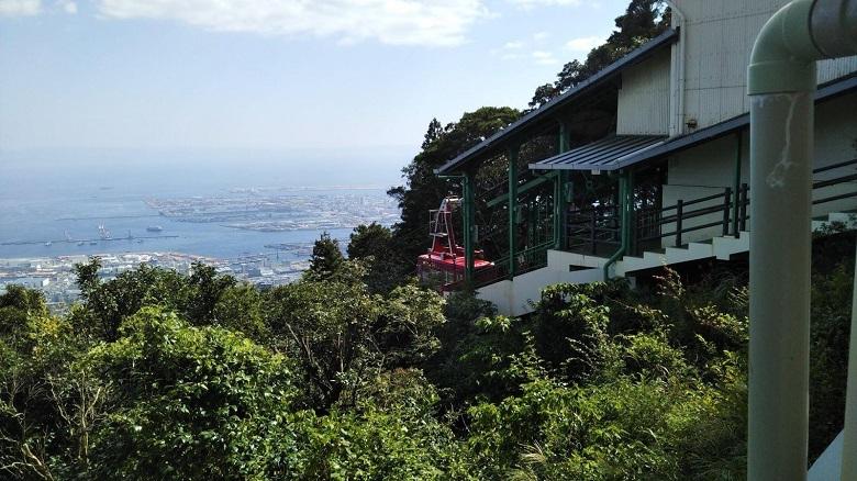 大阪市内まで見える絶景