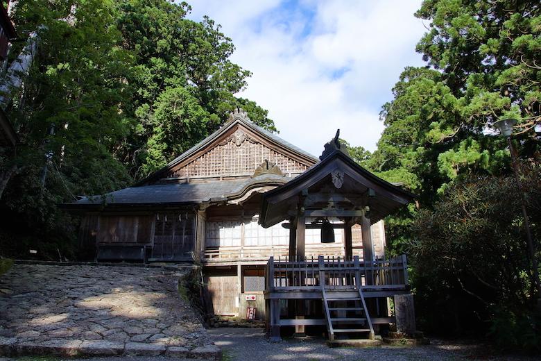 玉置神社の社務所