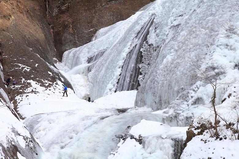 袋田の滝 氷瀑