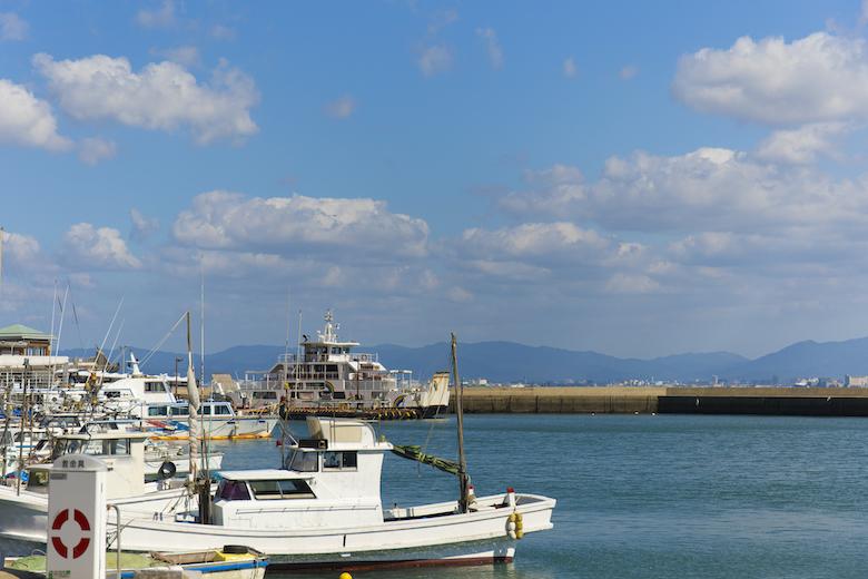 能古島渡船場