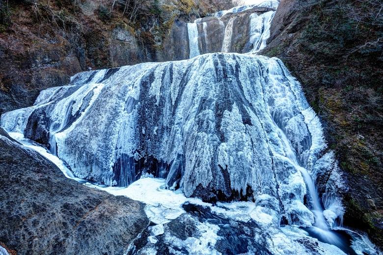 袋田の滝・氷瀑