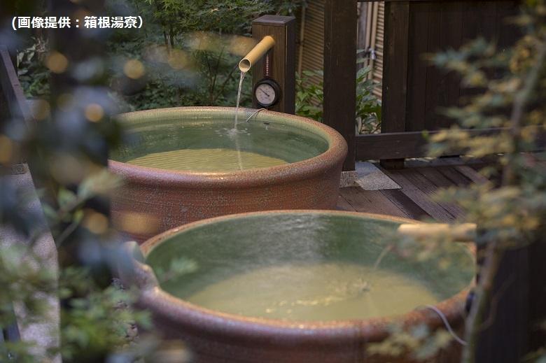 信楽焼の壺風呂