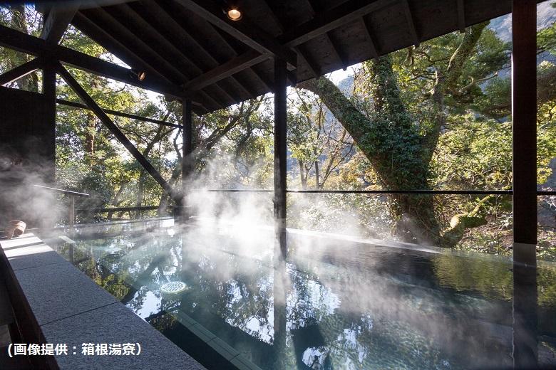 箱根湯寮・女性の見晴らし風呂