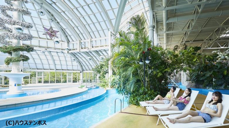 ハウステンボス室内プール