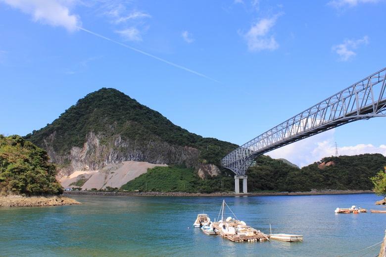 天草1橋からの景観
