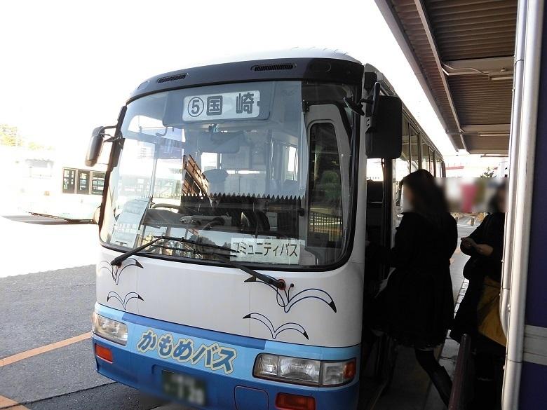 相差行の路線バス