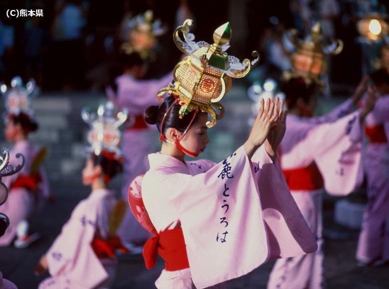 山鹿灯籠祭
