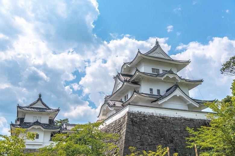伊賀上野城の天守を再現