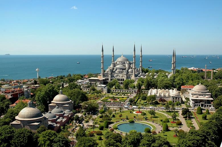 東西の文化がまじりあうイスタンブール