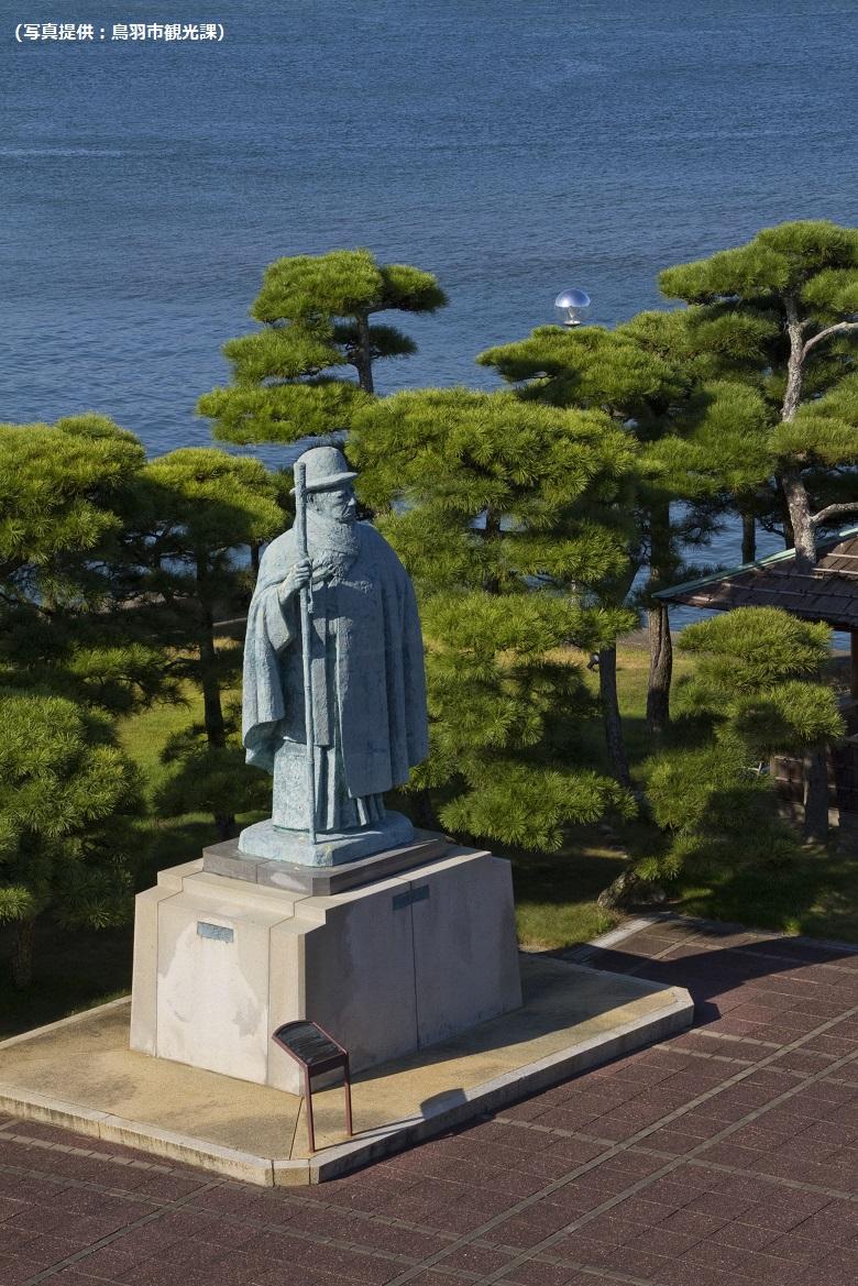 御木本幸吉の銅像