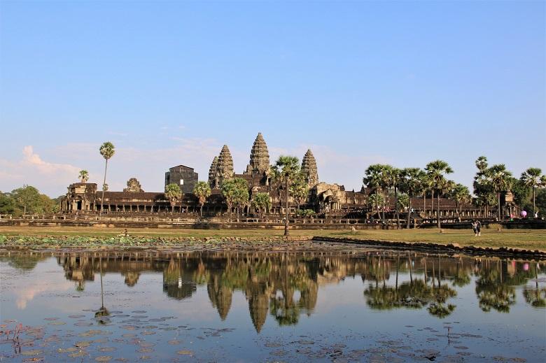 カンボジア・アンコールワット遺跡