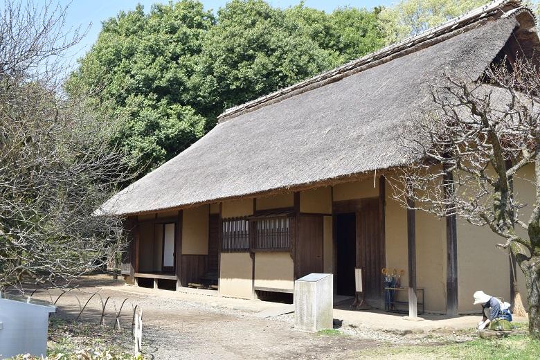 江戸東京たてもの園にある「八王子千人同心組頭の家」