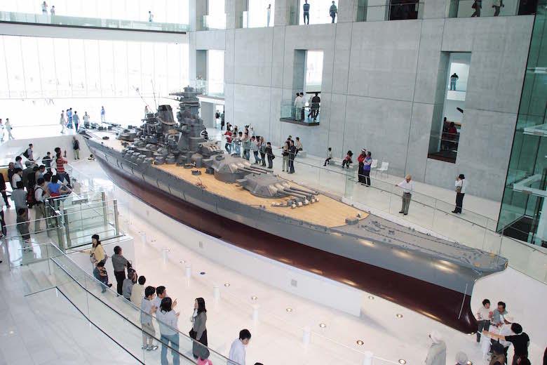 戦艦大和模型全景