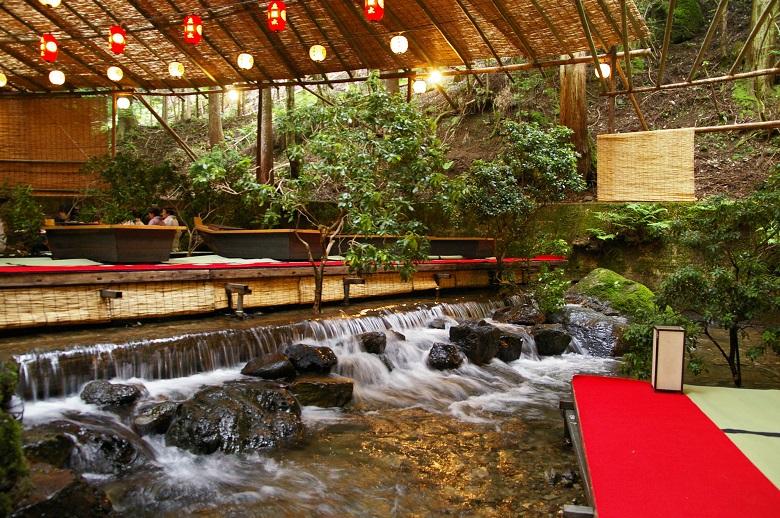 京都・川床