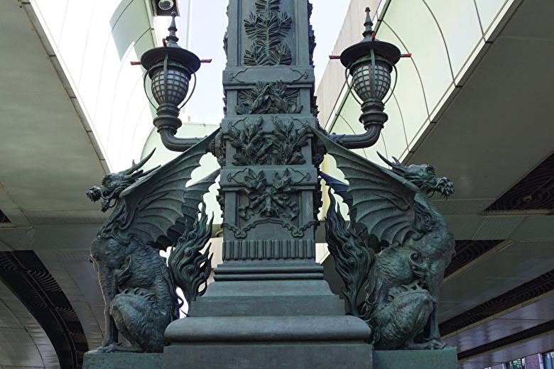 日本本橋麒麟像