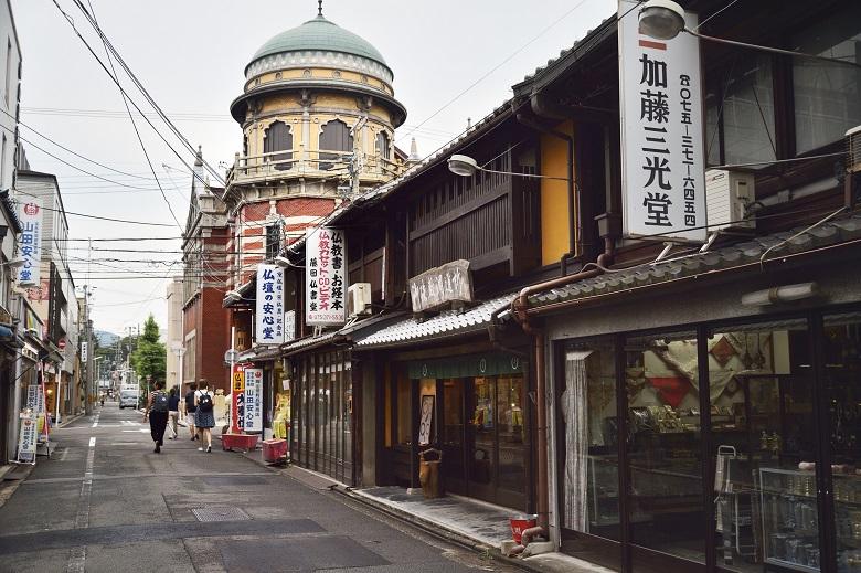 西本願寺・門前町