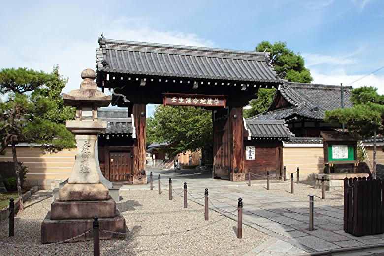 壬生寺入口
