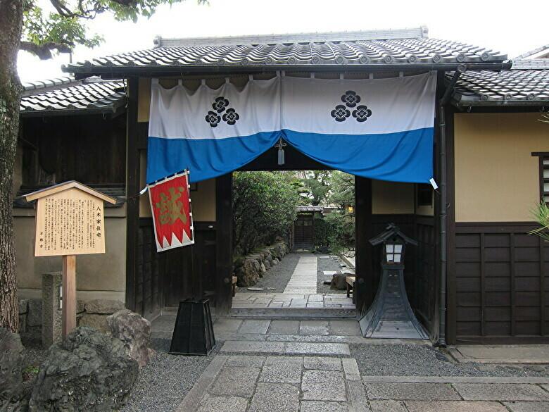 八木邸入口