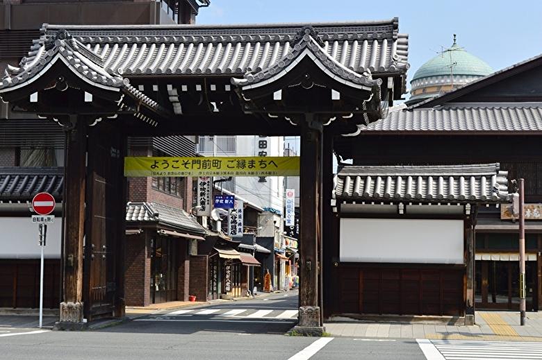西本願寺入口