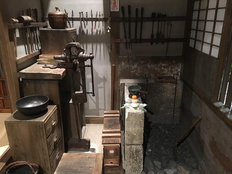 下町風俗史料館の2階