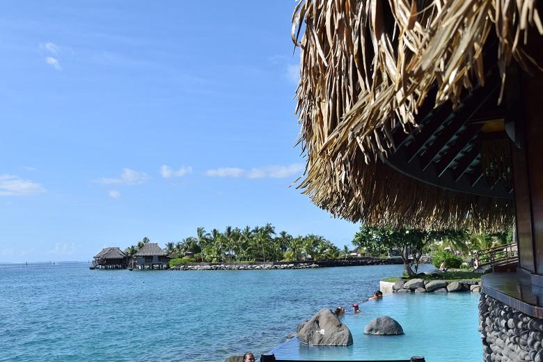 タヒチ島にあるリゾート