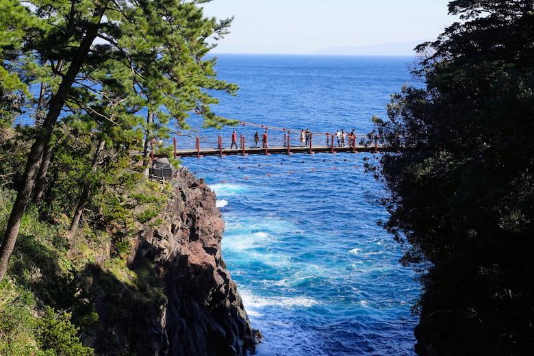 門脇吊り橋