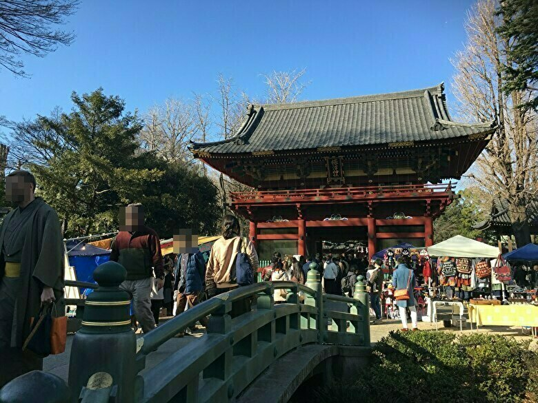 根津神社中門