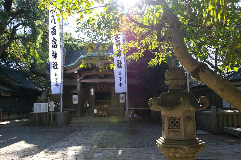 竹島八百富神社