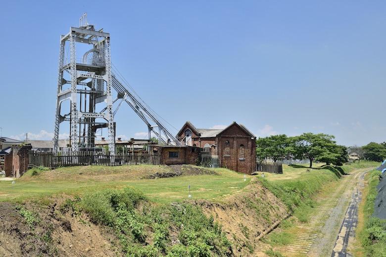 三池炭鉱(三池炭鉱専用鉄道敷跡)