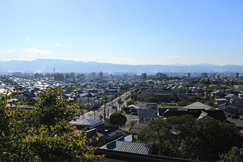 会津若松の景色