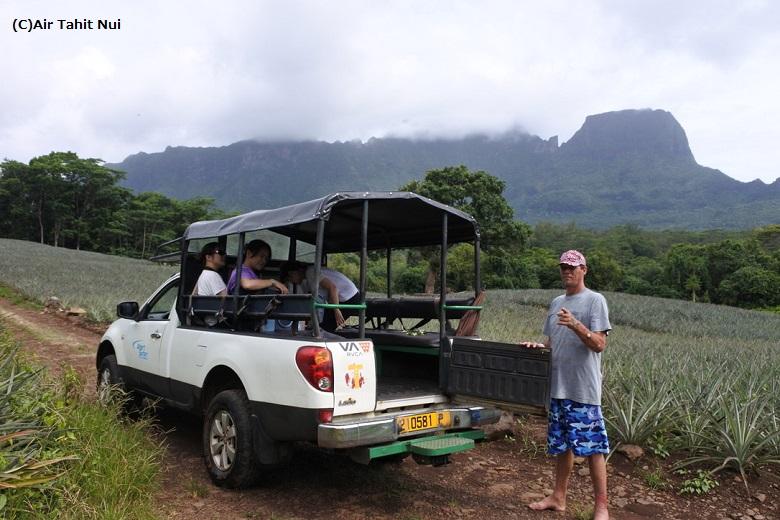 モーレア島4WDサファリツアー