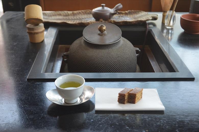 木田芳香園お茶と和菓子