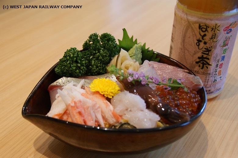 プチ富山湾丼セット