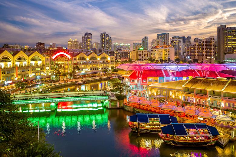 シンガポール・ナイト・クルーズ