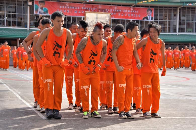 フィリピン刑務所・囚人ダンス