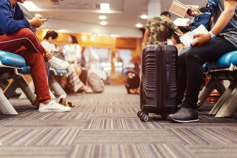 空港ターミナルでの感染予防策