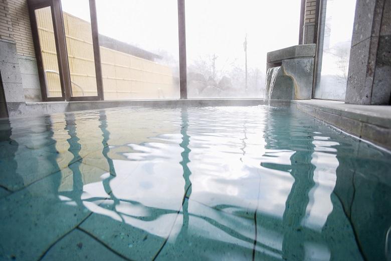 大浴場のコロナウイルス対策