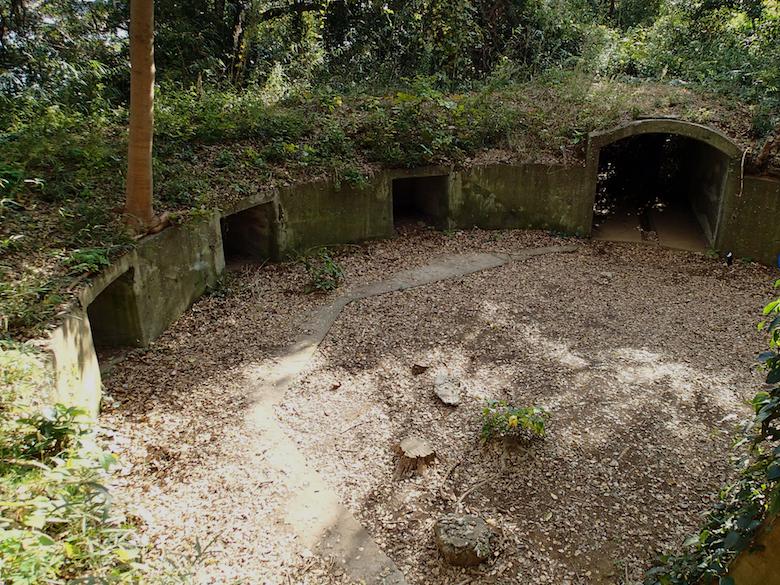 猿島の砲台