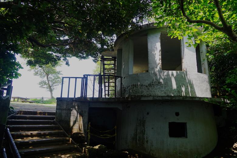 猿島の展望台