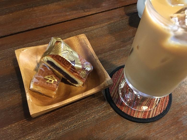 会津葵とカフェオレ