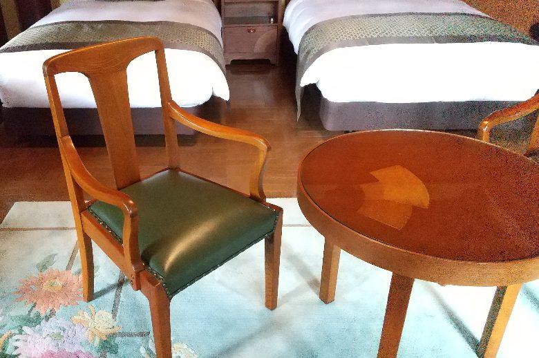 修復された家具