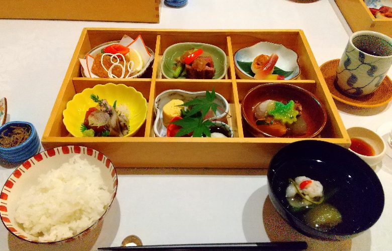 菊花荘の懐石弁当