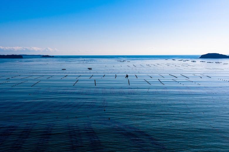 南三陸の海「ハマーレ歌津(うたつ)」