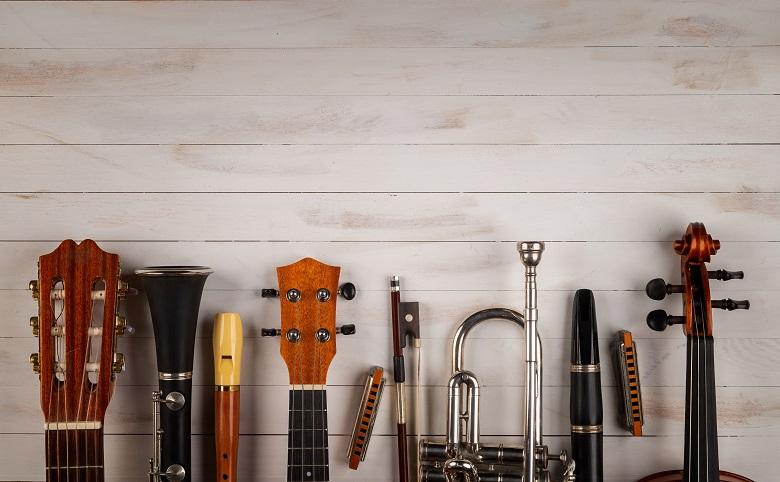 音楽合宿の道具