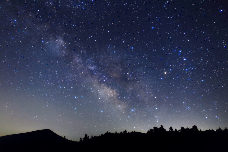 蔵王の星空
